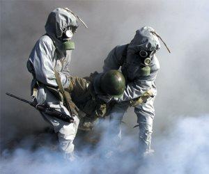 بعثة منظمة حظر الأسلحة الكيميائية تزور موقع الهجوم فى دوما