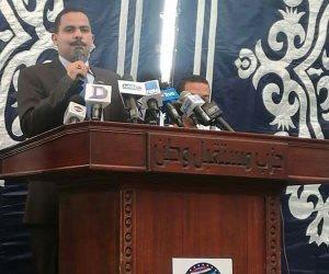 أشرف رشاد: لا مكان لمتكاسل بيننا.. المسؤولية لن ترحم أحدا (صور)