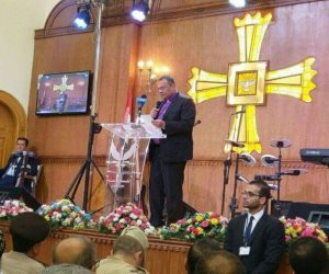 الكنيسة الإنجيلية تفتتح آخر كنائس خربها الإخوان ببني مزار (صور)