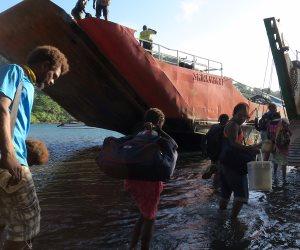 ثوران بركان جزر فانواتو تتسبب في إجلاء 11 ألف شخص (صور)