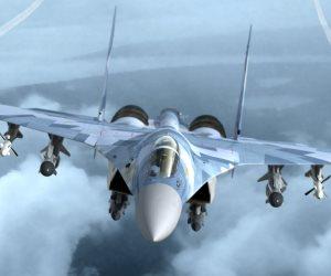 """""""سبوتنيك"""": طائرات """"سو-35"""" الروسية تعترض مقاتلات إسرائيلية فوق سوريا"""
