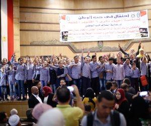 """قيادى بـ""""حب الوطن"""": السيسي أهم مكتسبات ثورة 30 يونيو (صور)"""