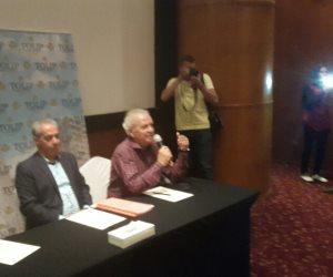 بدء فعاليات المؤتمر الصحفي لإعلان تفاصيل مهرجان الإسكندرية السينمائي