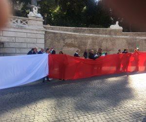 نائبة بيرلسكوني تقود مظاهرة ضد قطر في روما بسبب رشاوي اليونسكو
