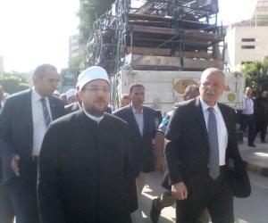 وزير الأوقاف يوزع 10 طن لحوم من صكوك الأضاحي بالمنيا