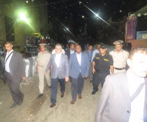 في جولة مفاجئة.. مدير أمن الغربية يتفقد خدمات تأمين منطقة مسجد الأحمدى بطنطا