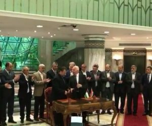 فتح وحماس تتفقان على تمكين حكومة الوفاق.. ومصر تدعو لاجتماع نهاية نوفمبر