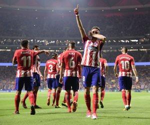 أتليتكو مدريد يخطف المركز الثالث في الليجا بفوزه على لاكورونيا (فيديو)