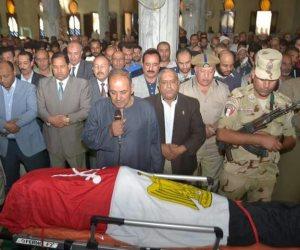 قيادات الغربية تشيع جثمان شهيد كرم القواديس في جنازة مهيبة (صور)