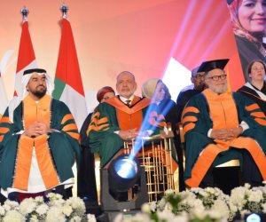 جامعة كيب بريتون تمنح الدكتورة الفخرية لـيحيى الفخراني وحسين الجسمي (صور)
