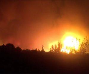 السيطرة على حريق بمخزن للمنتجات الغذائية بقويسنا بالمنوفية