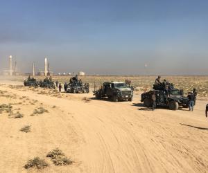 القوات العراقية تهزم داعش في السعيدان