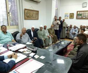 برلماني يعرض على رئيس مركزية ري البحيرة إقامة محطة رفع على فرع رشيد (صور)