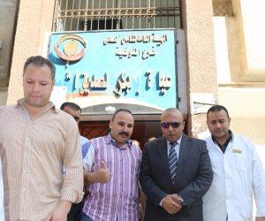 محافظ المنوفية يُفاجئ مستشفى الهلال ومجمع عيادات التأمين الصحي بشبين الكوم (صور)