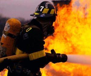 إطفاء حريق بدروم برج سكني بالعمرانية