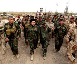 """اندلاع اشتباكات عنيفة بين تنظيم داعش الإرهابي و""""الحشد الشعبي"""" قرب الحدود السورية العراقية"""