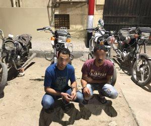 القبض على تشكيل عصابي تخصص في سرقة الدراجات البخارية (صور )