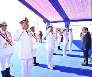 عظيمة يا مصر.. 10 صور ترصد تطور القوات البحرية المصرية