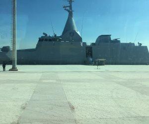 استعدادا للمناورات المشتركة مع روسيا.. سفن حربية مصرية تظهر على السواحل التركية