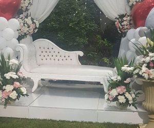 شاهد.. التجهيزات الأخيرة لحفل زفاف أحمد سعد وسمية الخشاب