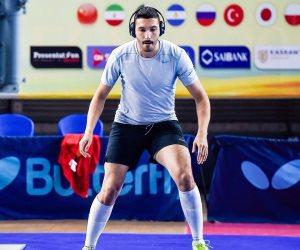 علاء أبو القاسم يودع  بطولة كأس العالم للشيش(صورة)