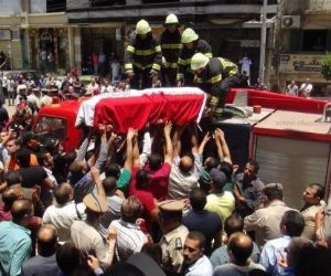 الآلاف يودعون شهداء كمين العريش: الإرهاب لا دين له