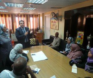 """""""تعليم سيناء"""" يشدد على سرعة رصد الوضع الراهن بمدارس المحافظة"""