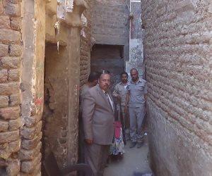 تصدع 7 منازل بقرية ريفا بأسيوط بسبب البحث عن الآثار (صور)