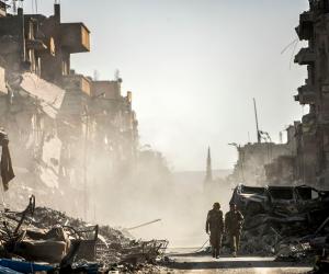 مجموعة السبع تدعم جهود أمريكا وبريطانيا وفرنسا للحد من قدرات سوريا الكيماوية