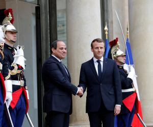 """استعراض خبرات مصر بمكافحة الجماعات المتطرفة في صدارة قمة """"ماكرون ـ السيسي"""""""