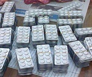 القبض على منجد وعامل وربة منزل قبل ترويجهم 16 ألف قرص مخدر بالمطرية