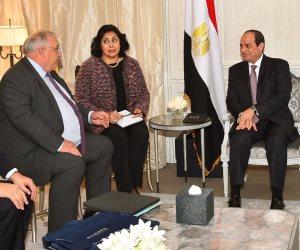"""السيسي: مصر ثاني أكبر مستخدم للقطع البحرية من """"نافال"""""""