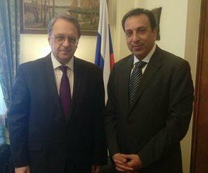 الخارجية الروسية تستقبل رئيس الوفد المصري المشارك في مهرجان سوتشي للشباب