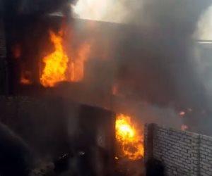 السيطرة على حرق نشب في مخزن مجلس مدينة الزقازيق