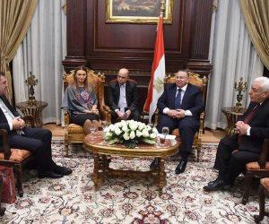 وكيل مجلس النواب يبحث مع نظيرته الأذربيجانية التعاون بين البلدين (صور)