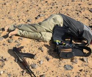 تصفية 8 عناصر إرهابية خلال حملة موسعة بمنطقة شرق العريش