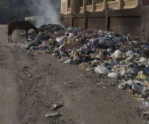 تقرير لجنة وزارة البيئة لمعاينة مصنع تدوير القمامة بحوتة بالدقهلية