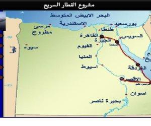 الهيئة القومية للأنفاق: مشروع القطار السريع يغير شكل الخريطة التنموية فى مصر