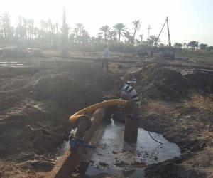 محافظ كفر الشيخ يشدد على الانتهاء من مشروع الصرف الصحي بمصيف بلطيم خلال 8 أشهر