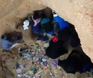 مصرع وإصابة عاملين انهارت عليهما حفرة أثناء تركيب ماسورة ري بأبو حمص