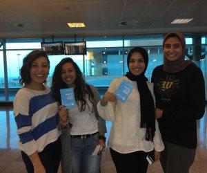 طلاب الجامعات المصرية يستعدون للسفر للمشاركة في منتدى شباب العالم (صور)