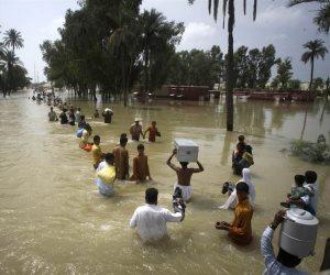 أخبار الصباح.. فيضانات موسمية في الهند تهدد العاصمة مومباى