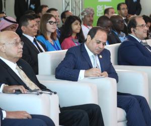 منتدى شباب العالم.. السيسي: لدينا تجربة رائدة في السلام والشباب الأمل والقوة