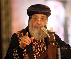 البابا تواضروس في مؤتمر القدس: الكنيسة لم ولن تعادي أي كيان أو دين