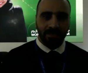 السوري أمير عوض: الرياضة ستعيد بناء سوريا مجددا (فيديو)