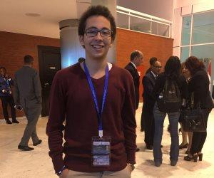 منتدى شباب العالم.. أذكي طفل في العالم: تكريم الرئيس يؤكد أن مصر تهتم بشبابها (فيديو)