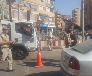 تحرير 1042 مخالفة متنوعة خلال حملة مرورية بالإسماعيلية