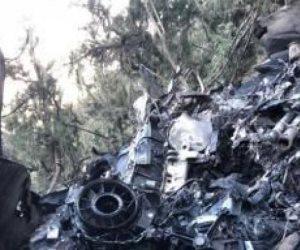 صور طائرة الأمير منصور بن مقرن المحطمة