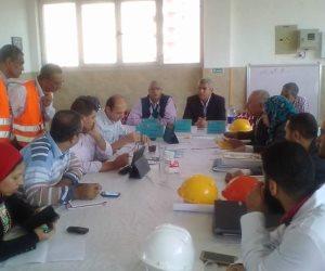 لجنة للتفتيش على محطة مياه المشتل بنطاق حي ثان المحلة الكبرى