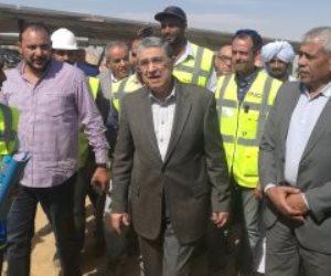 وزير الكهرباء بأسوان: توليد الطاقة الشمسية بقرية بنبان من أكبر مشروعات الطاقة بالعالم